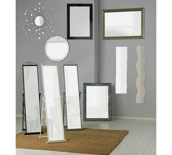 buy home full length frameless wall mirror at your online shop for mirrors home. Black Bedroom Furniture Sets. Home Design Ideas