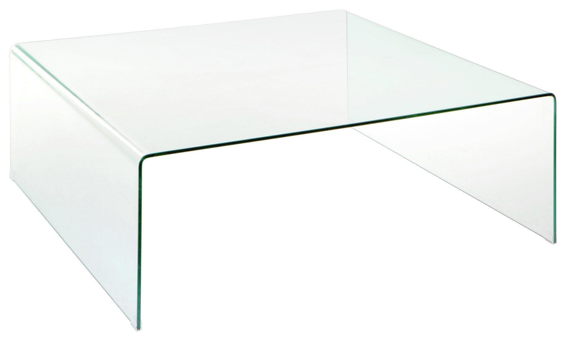 Buy Premier Housewares Matrix Clear Glass Coffee Table at Argosco