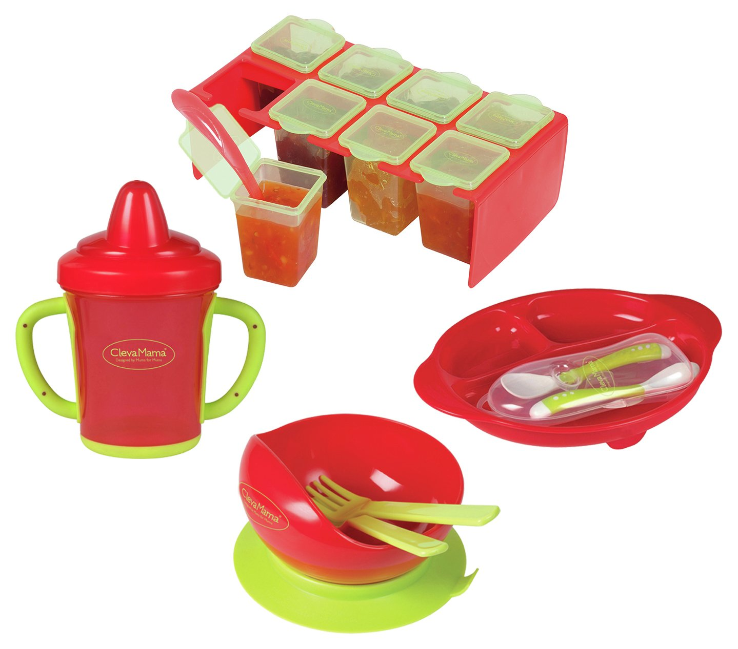 Image of Clevamama Feeding Essentials Set.