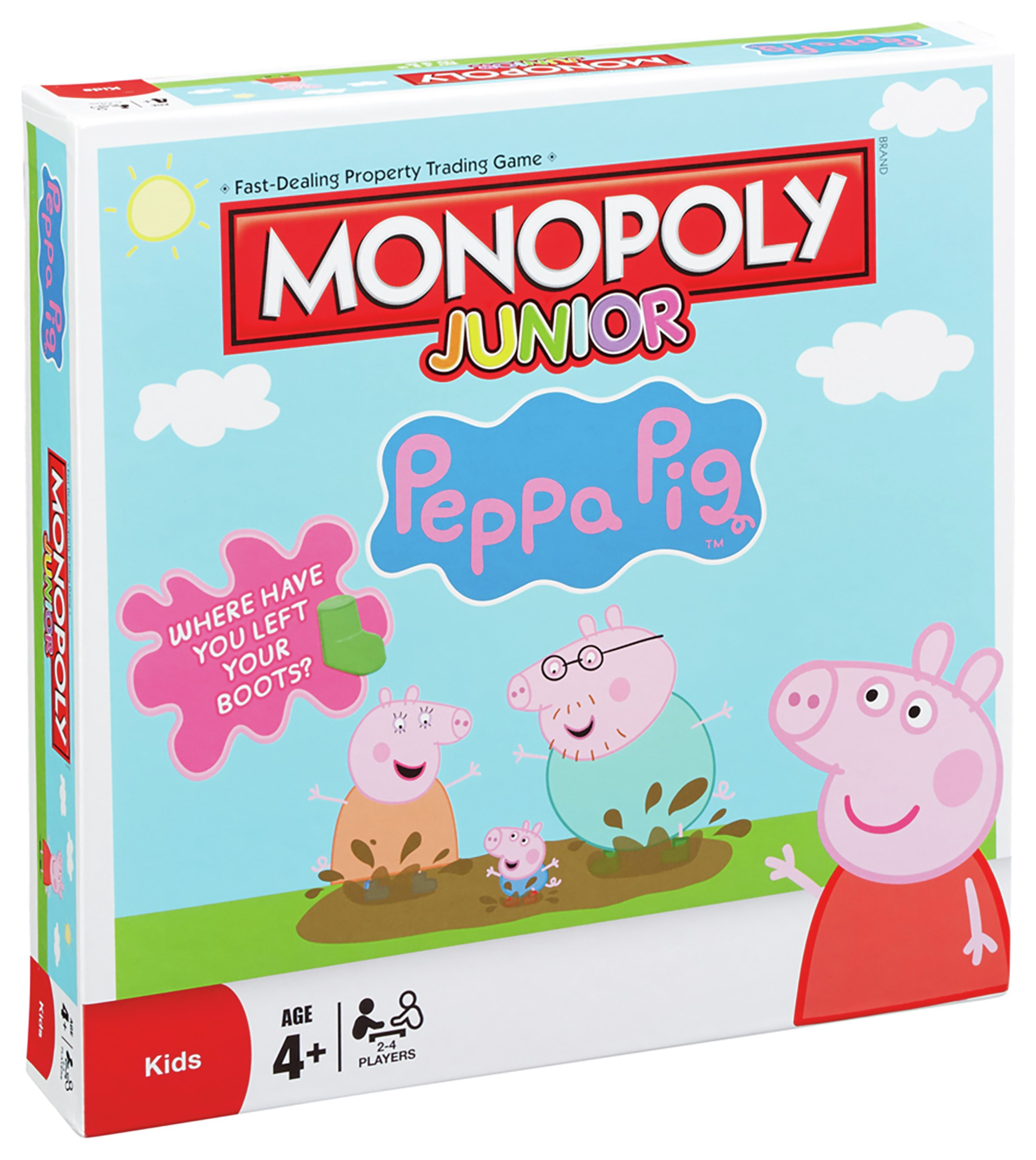 Peppa Pig - Junior Monopoly -  Game.