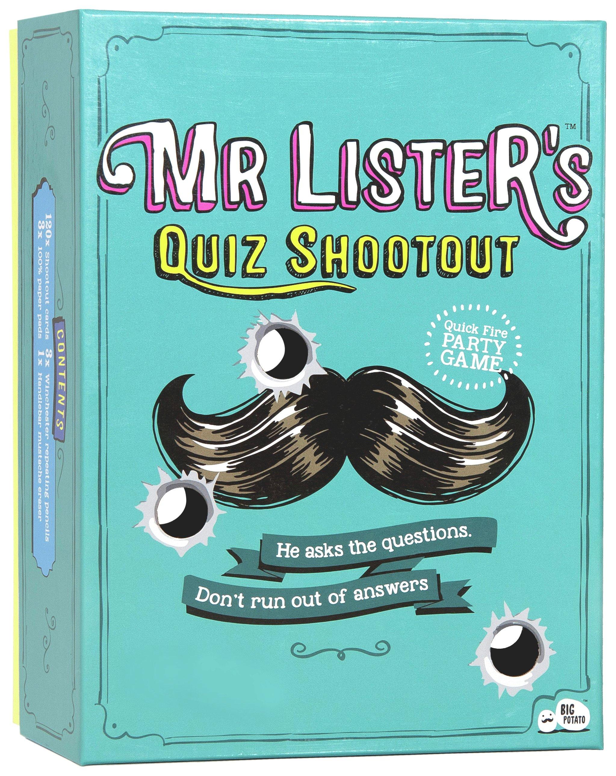 Image of Big Potato Mister Lister Quiz Game.