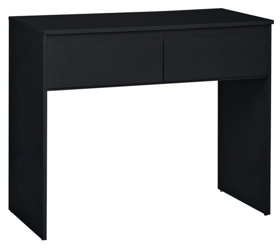 Buy Hygena Larvik Dressing Table Black Gloss At Argoscouk - Black gloss dressing table