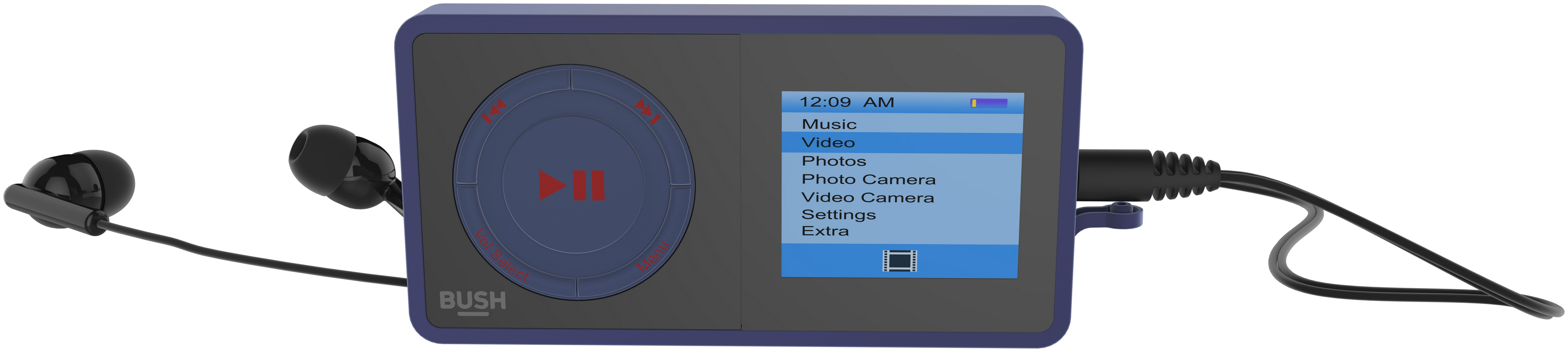 Image of Bush 8GB MP3 Player - Blue