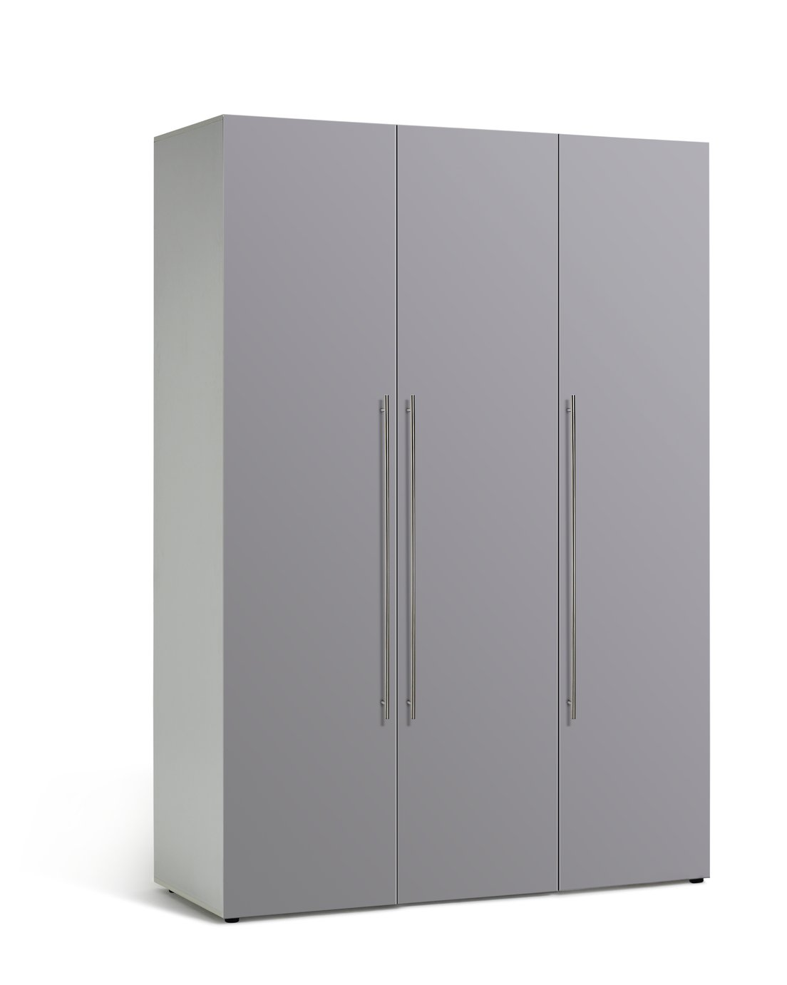 Argos Home Atlas 3 Door Tall Gloss Wardrobe