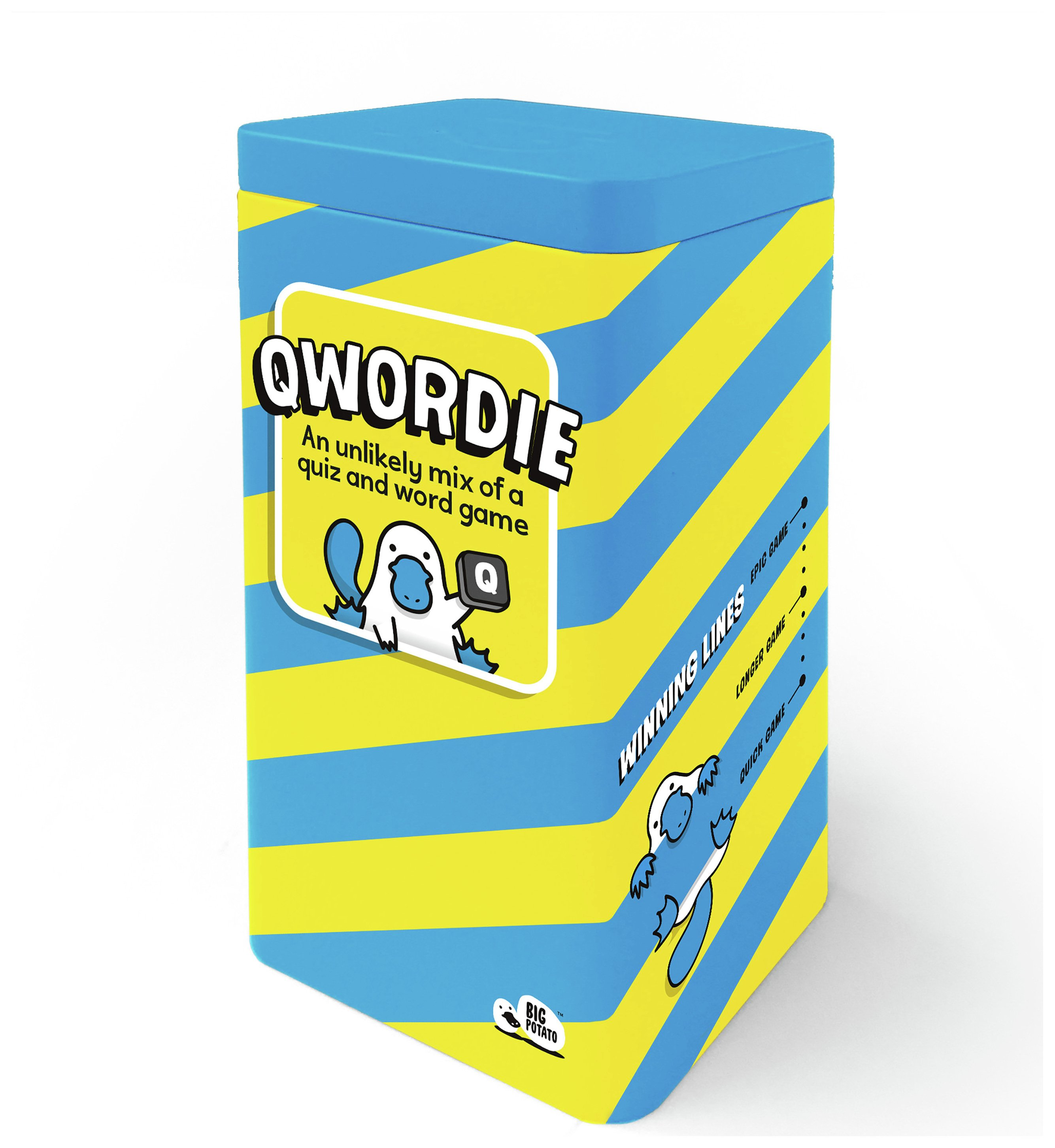Image of Big Potato - QWordie Game.
