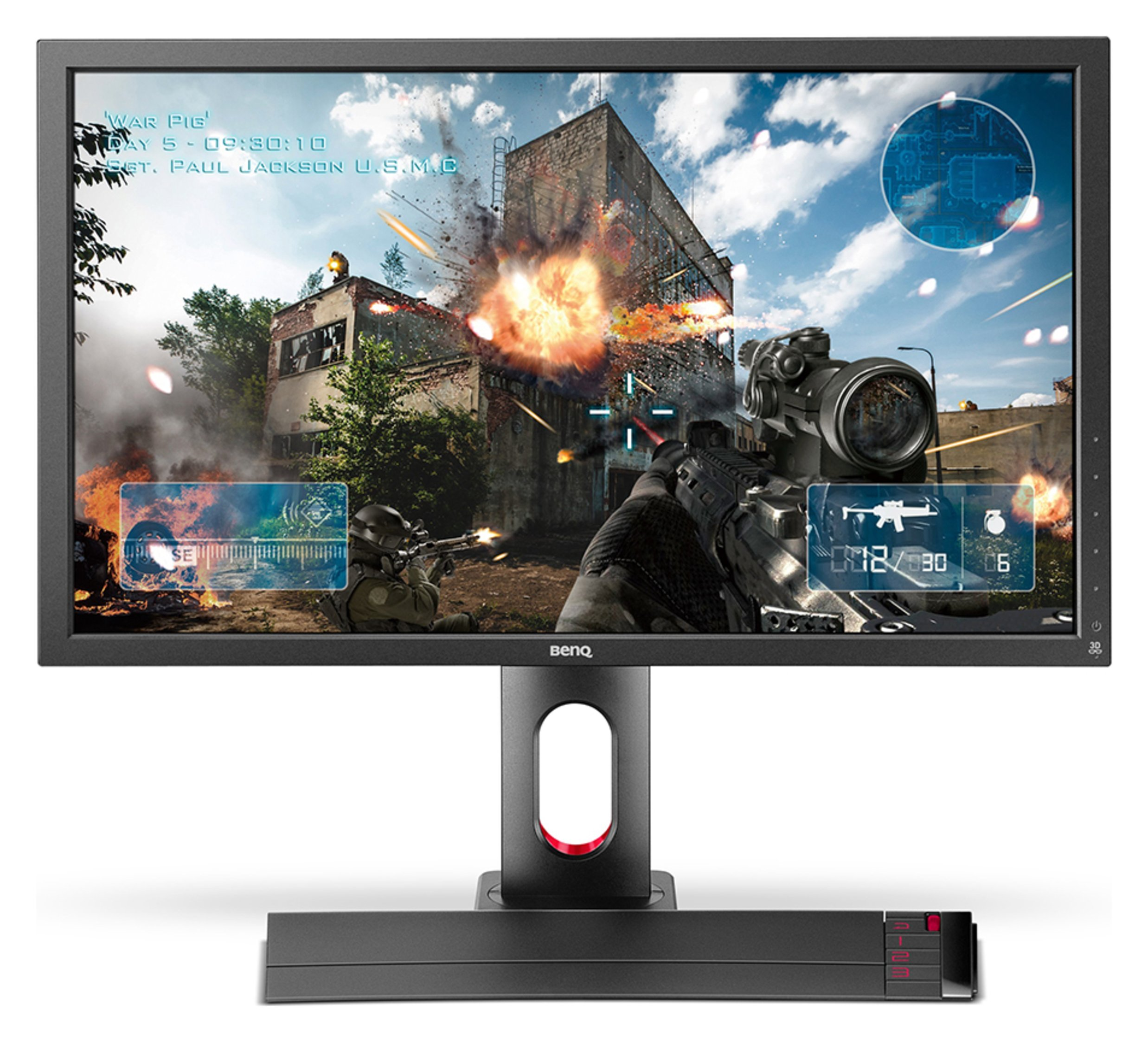Image of BenQ Zowie XL2720 27 Inch Gaming PC Monitor.