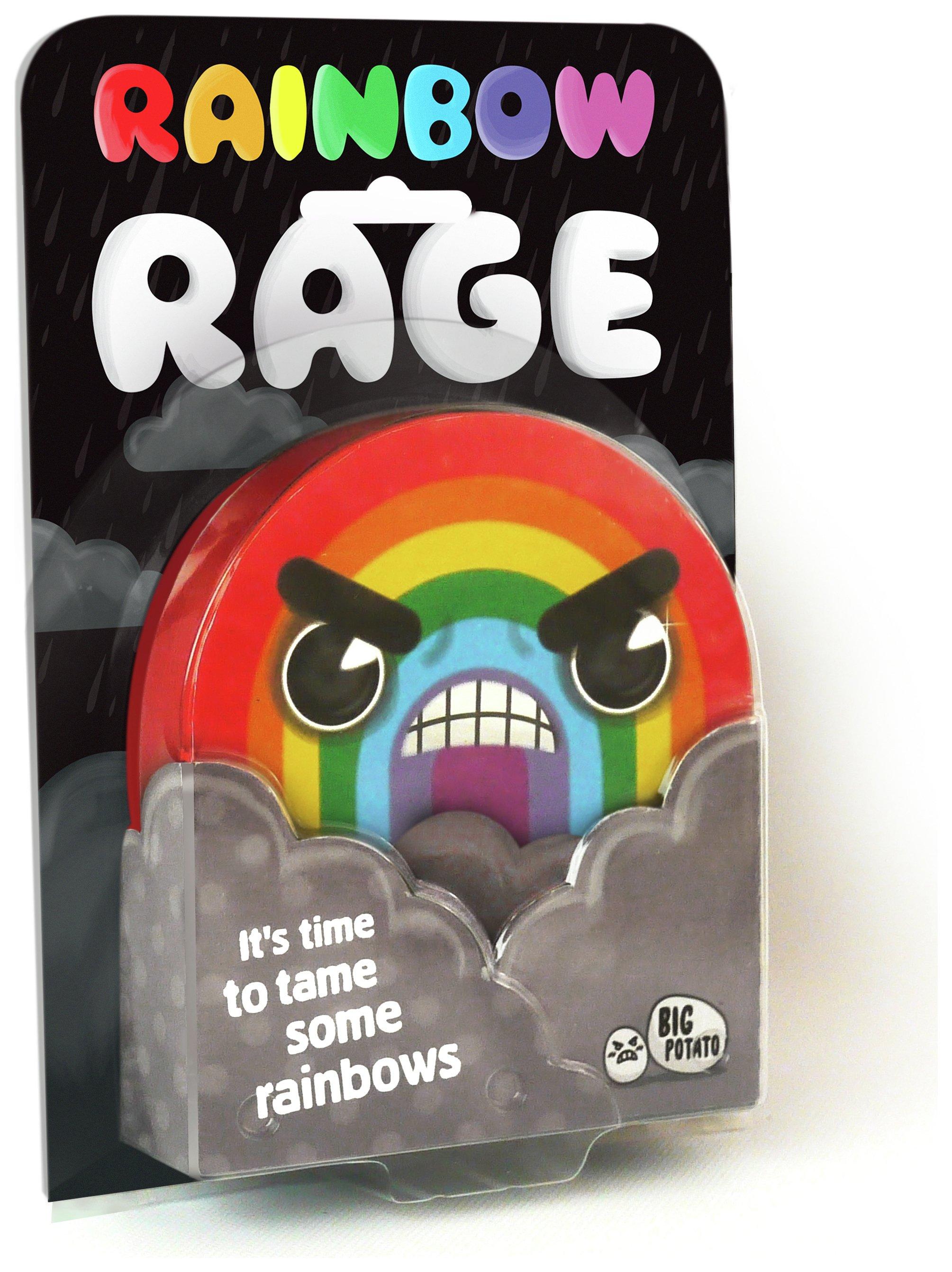 Image of Big Potato Rainbow Rage Game.