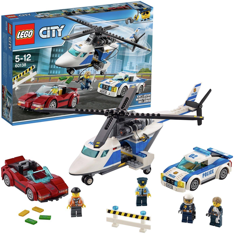 Buy LEGO City High Speed Chase - 60138 | LEGO | Argos