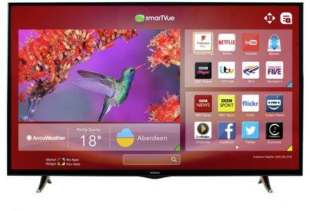 Hitachi 50 Inch Full HD Smart TV.