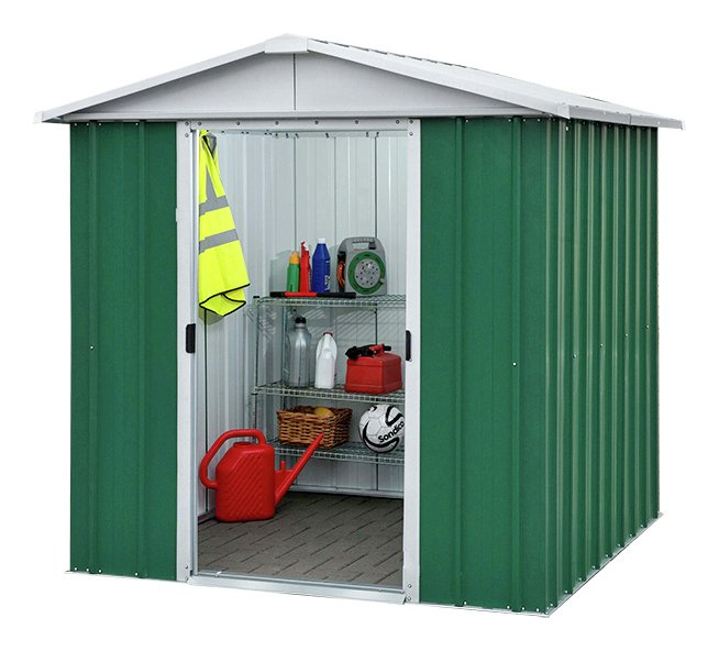Image of Yardmaster - 6 x 45 Metal Apex Shed