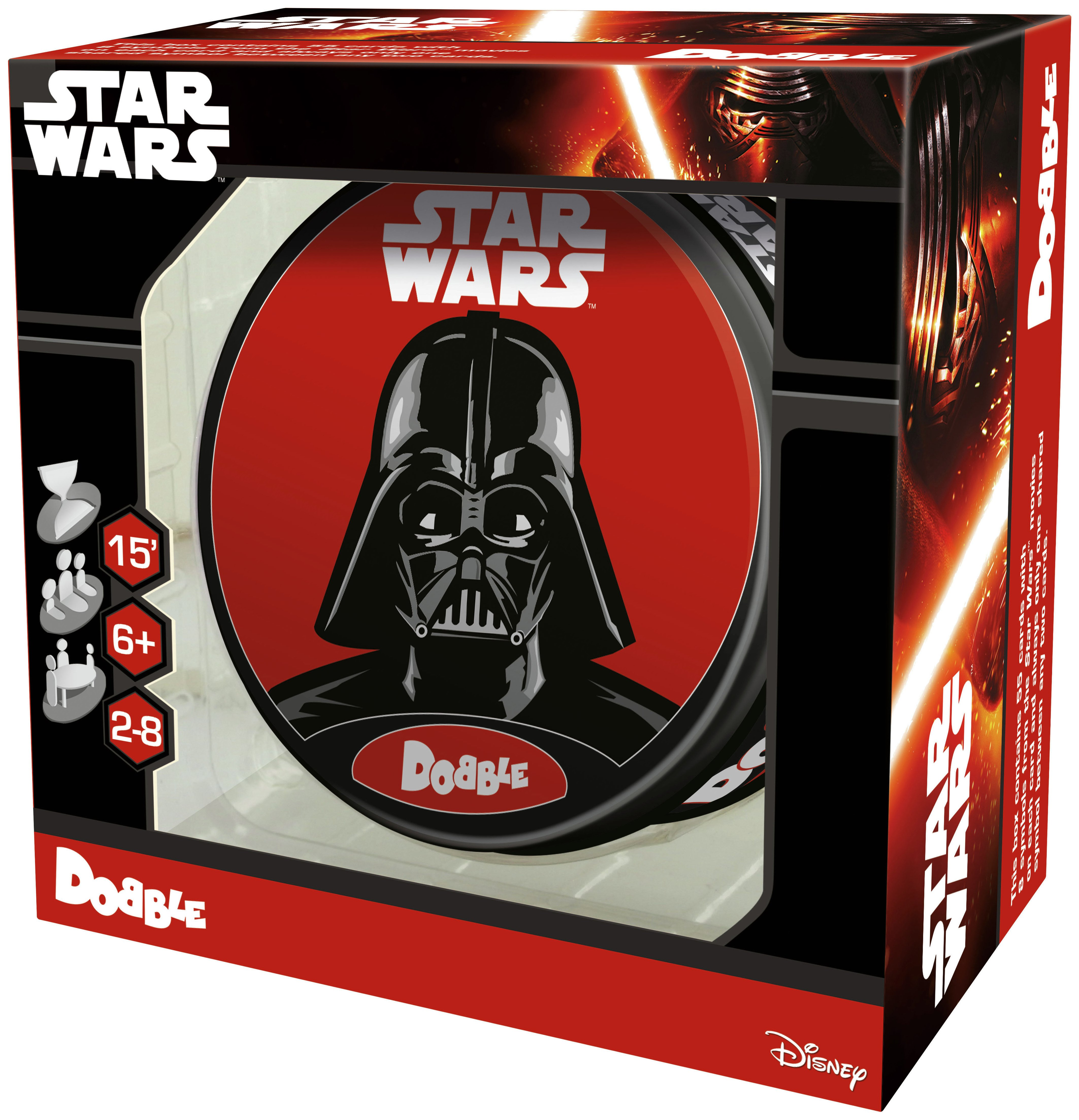 Image of Star Wars Dobble Game.