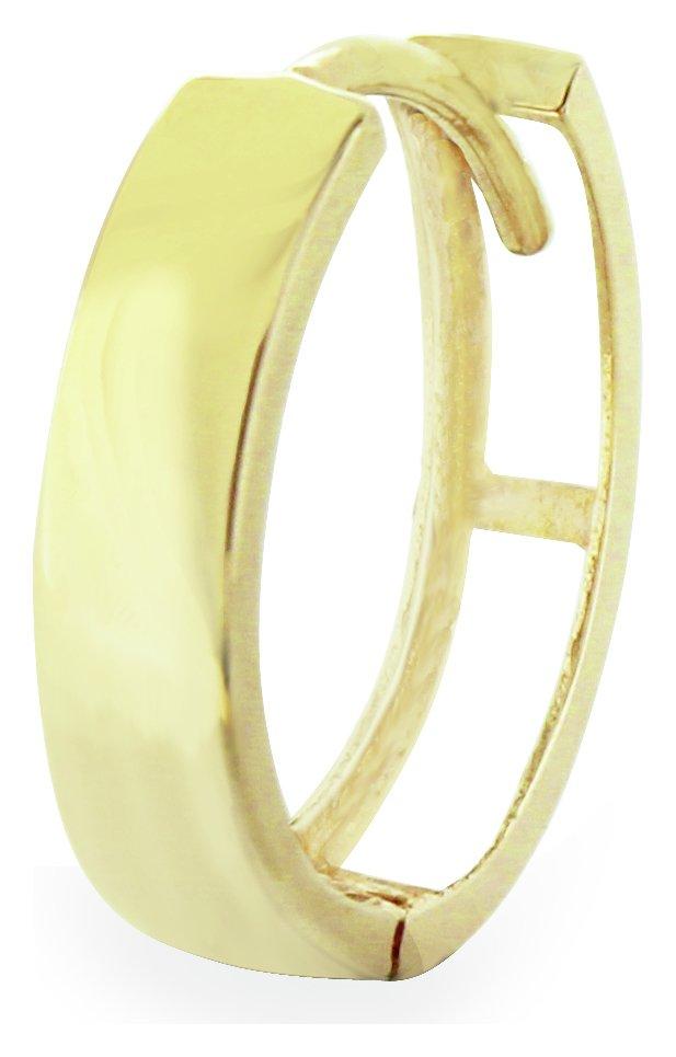 Image of Revere Men's 9ct Gold Single Hoop Earring