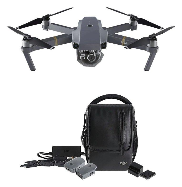 Image of DJI Mavic Pro 4K Drone Fly More Combo Kit