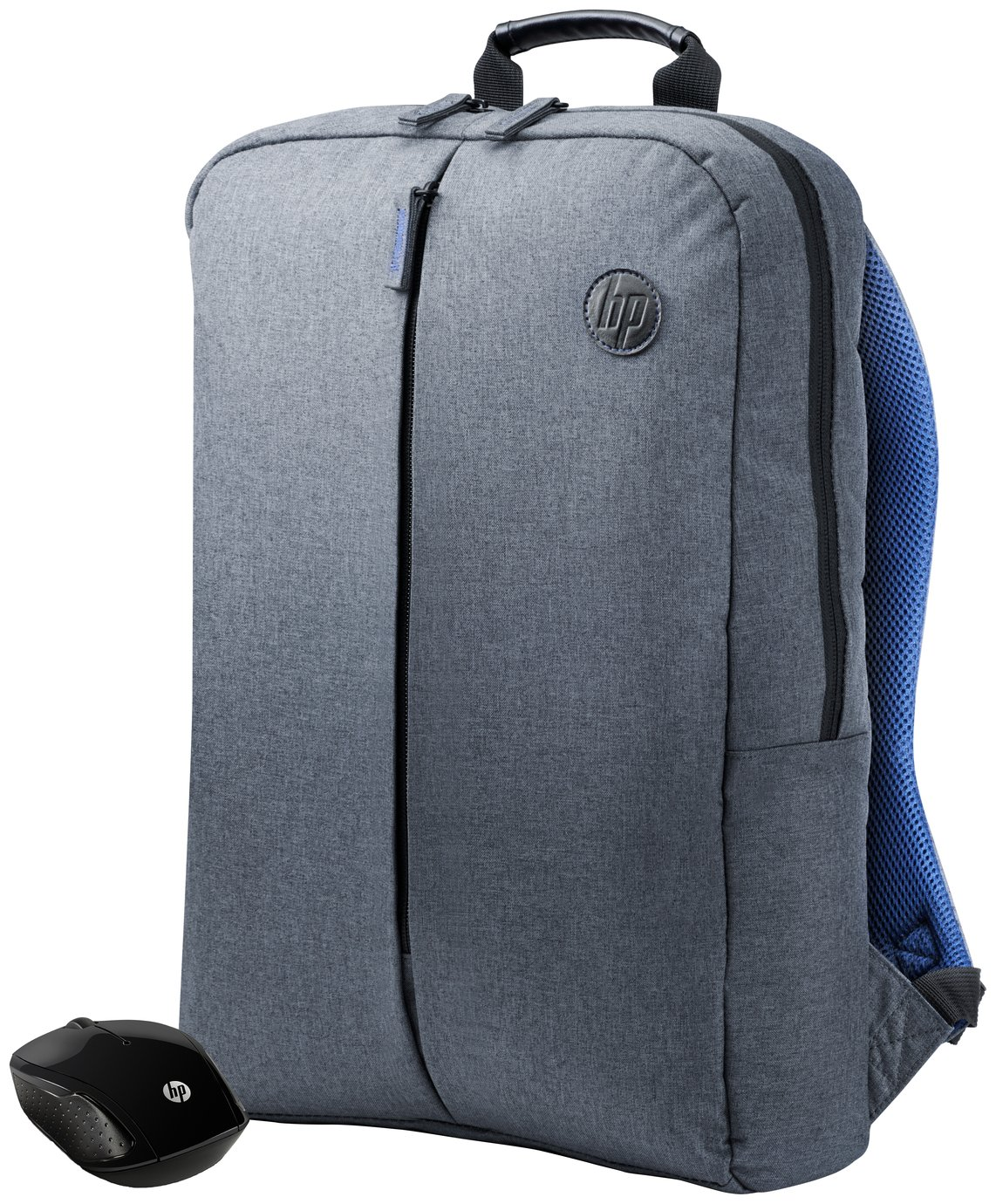 HP 15.6 Inch Laptop Backpack and Wireless Mouse