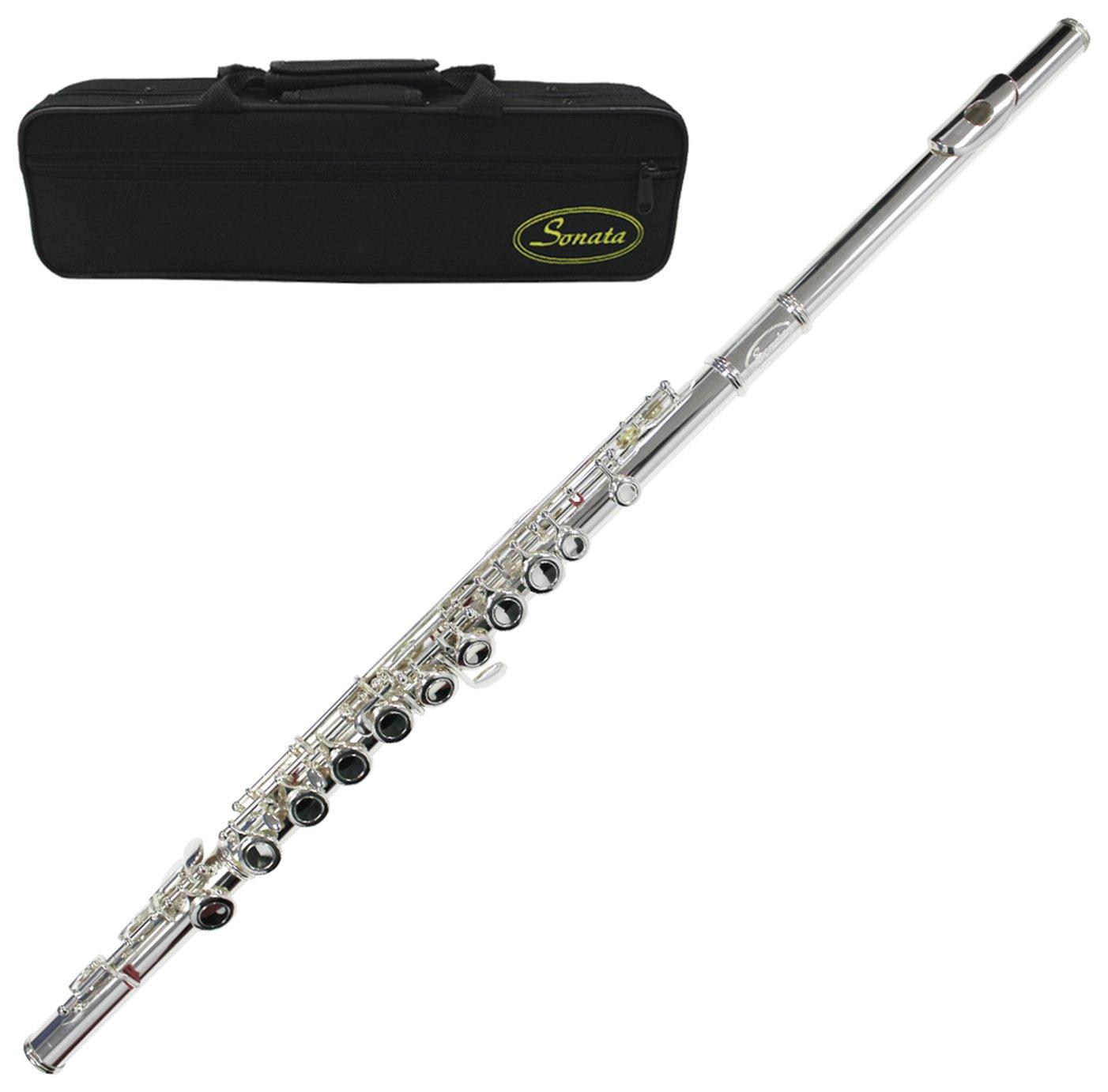 Sonata Student Flute - Silver Plate
