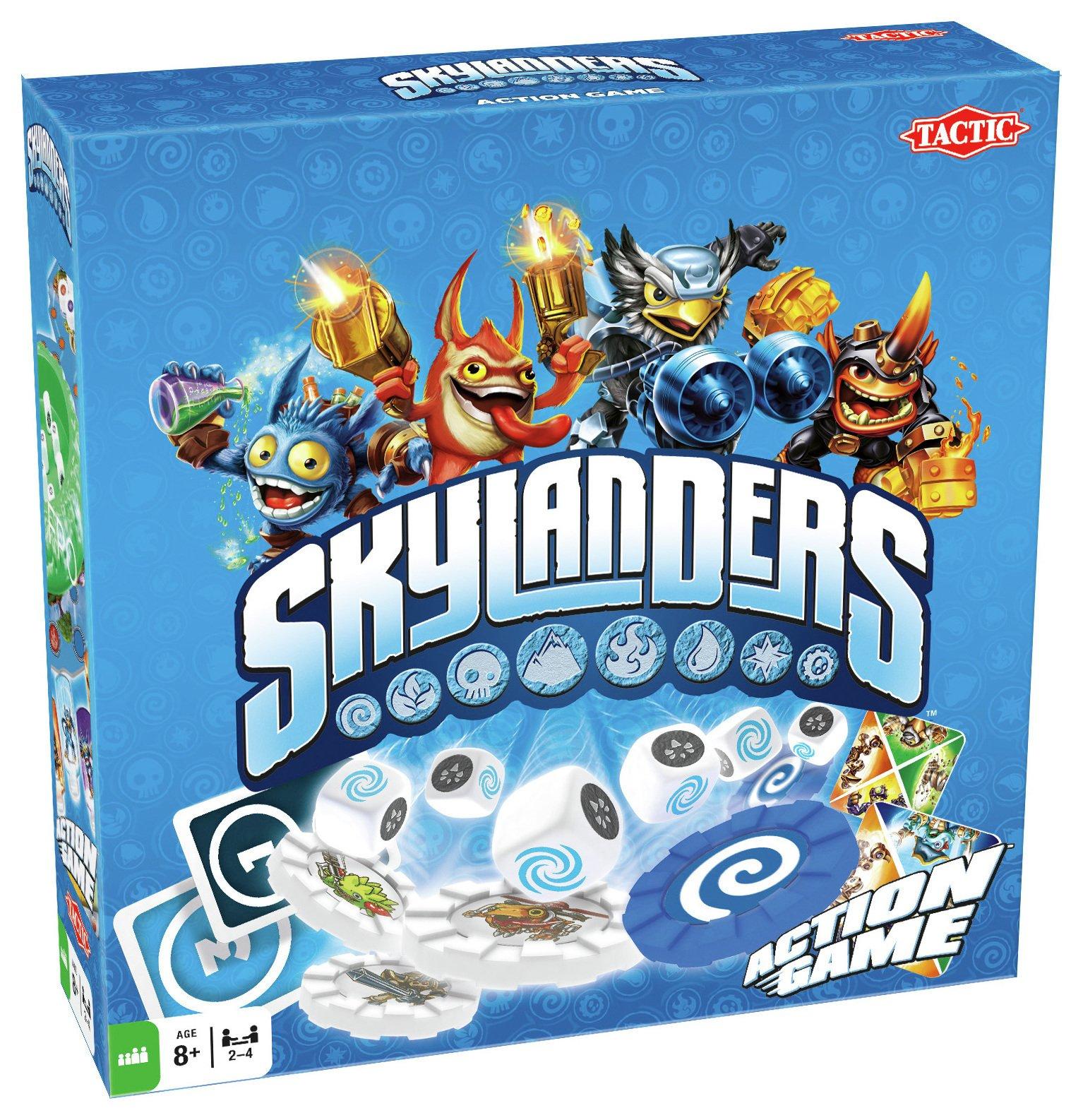 Image of Tactic Games - Skylanders Board Game.
