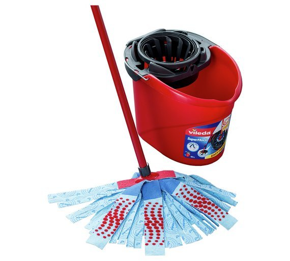 Buy Vileda 3 Action Supermocio Mop Bucket And Wringer Mops