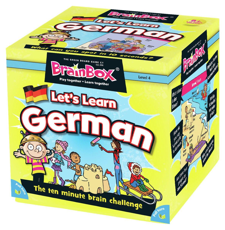 Image of BrainBox Let's Learn German.