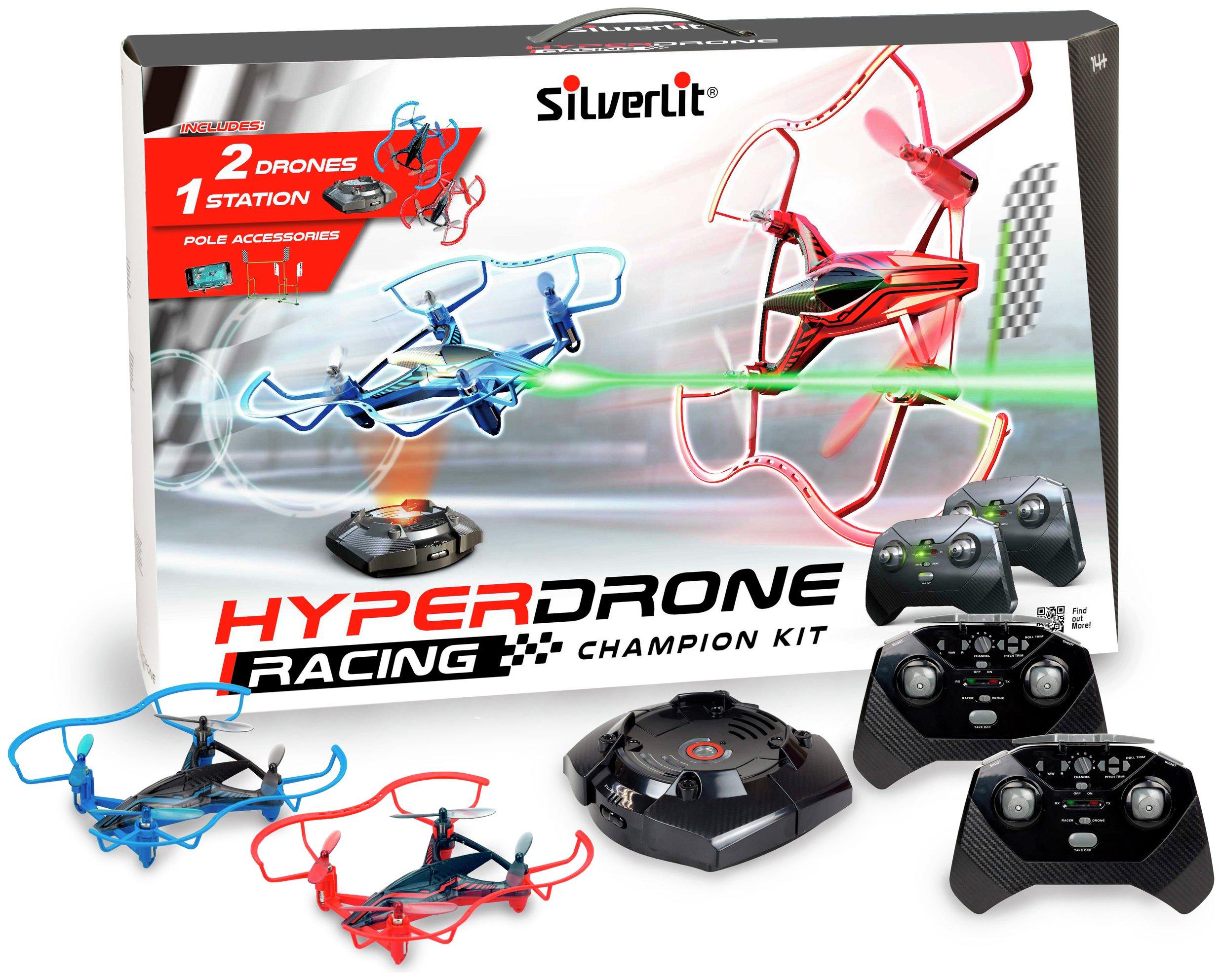 Silverlit 2.4G Hyperdrone Racing Kit.