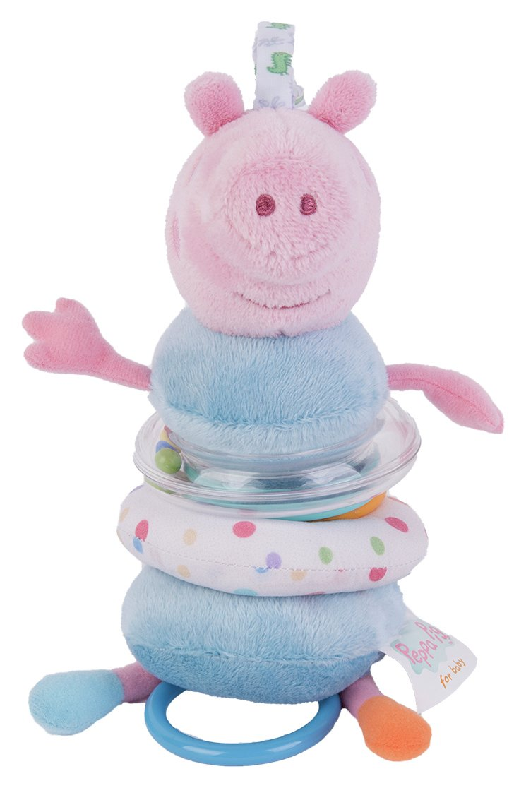 Peppa Pig for Baby Jiggle George Pig Toy.