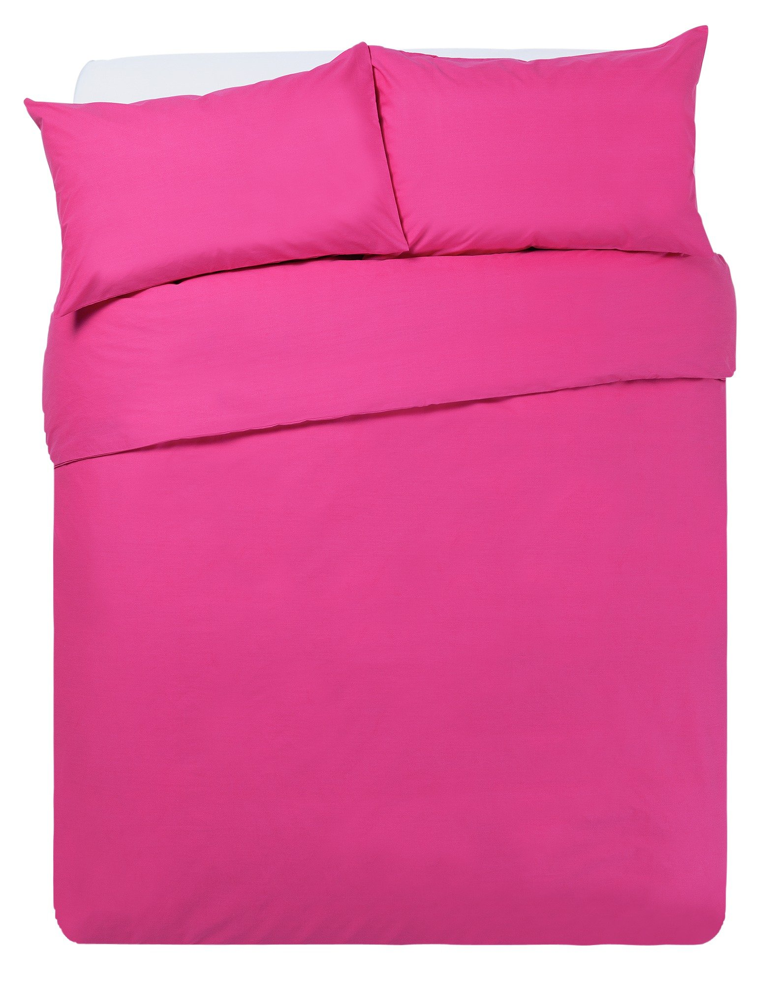 ColourMatch Funky Fuchsia Bedding Set - Double
