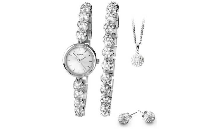 Sekonda Ladies' 4 Piece Glitter Set