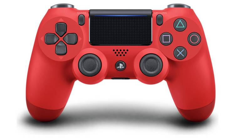 Sony PS4 DualShock 4 V2 Wireless Controller - Magma Red