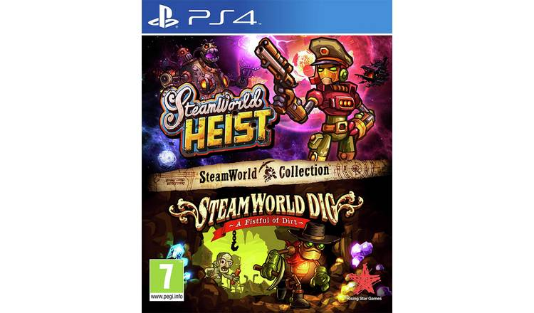 Steamworld Collection PS4 Game.