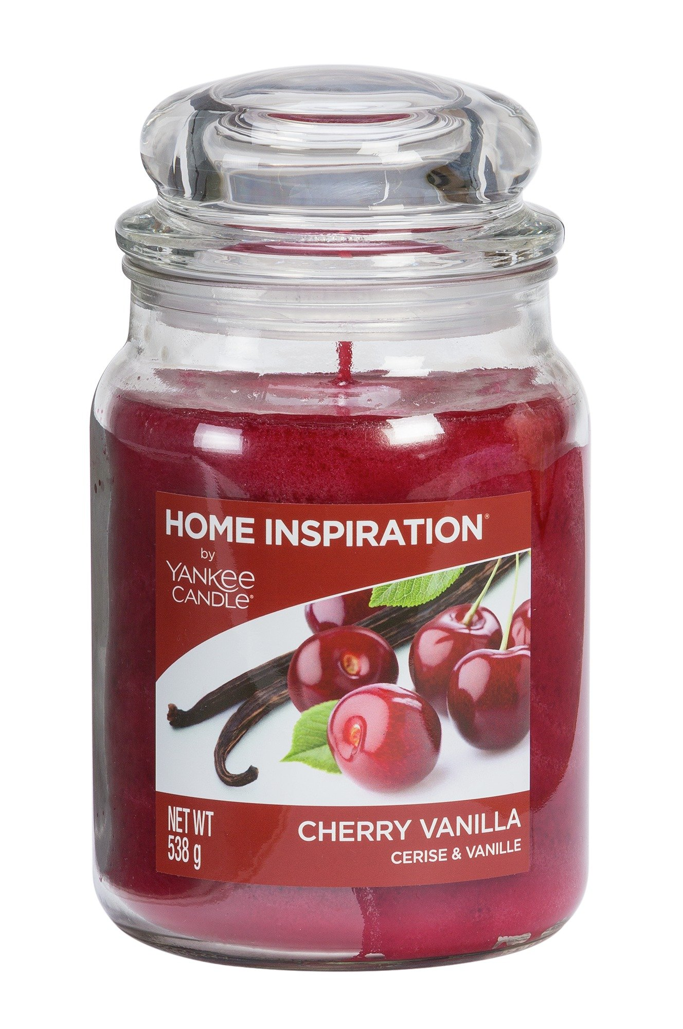 Image of Yankee Candle - Large Jar Candle - Cherry Vanilla