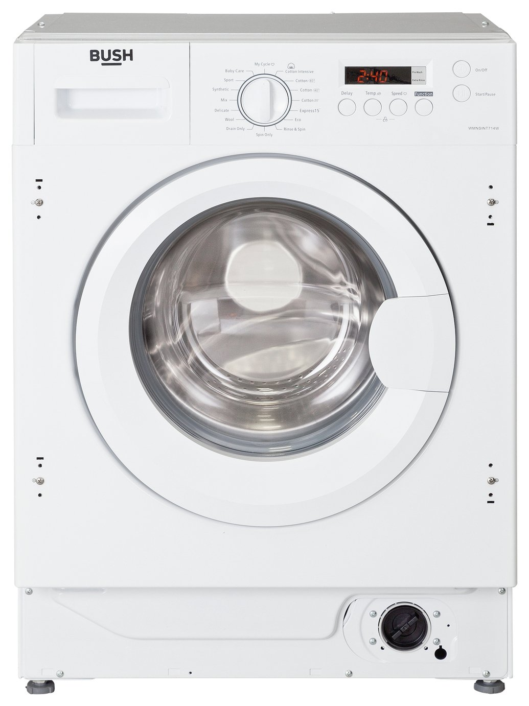 Image of Bush - WMNSINT714W 7KG 1400 - Washing Machine - White