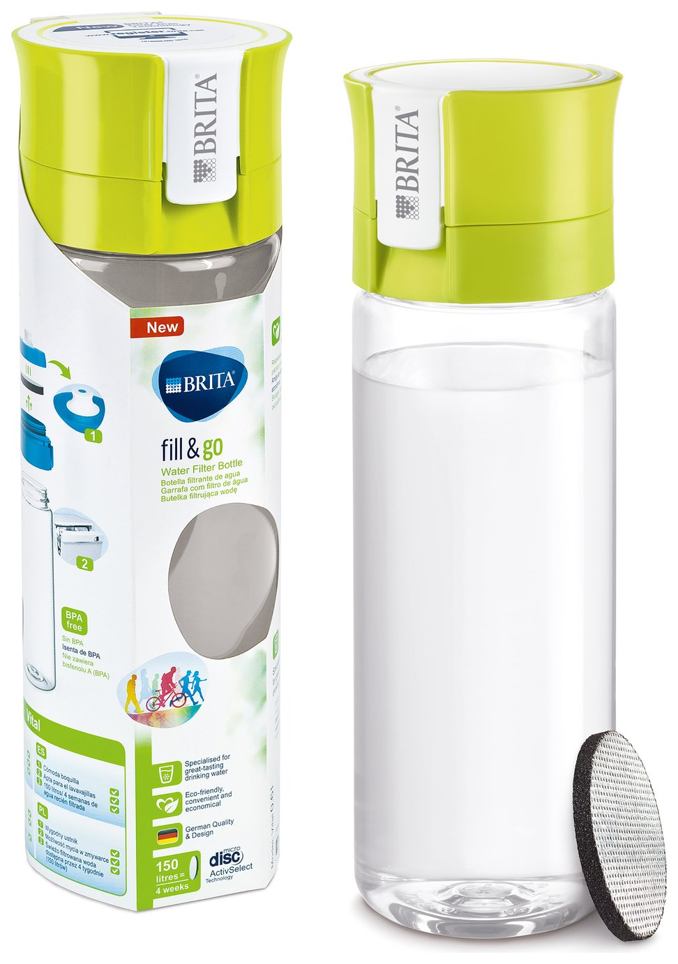 Image of Brita - Fill and Go Vital - Lime
