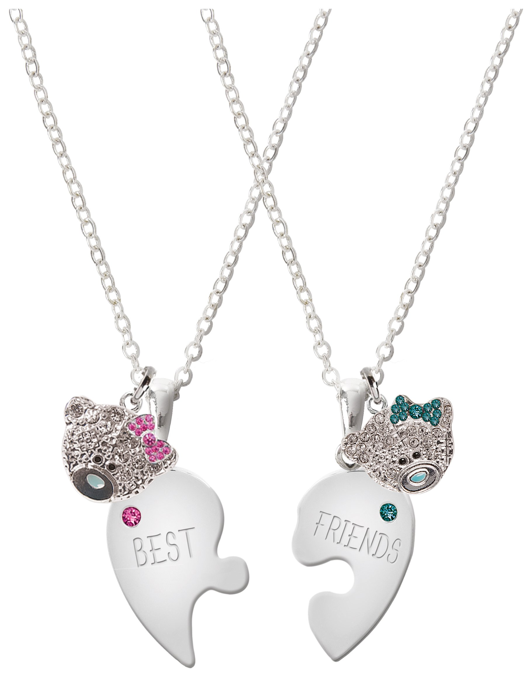 Image of Me To You Tatty Teddy 'Best Friends' Pendants - Set of 2