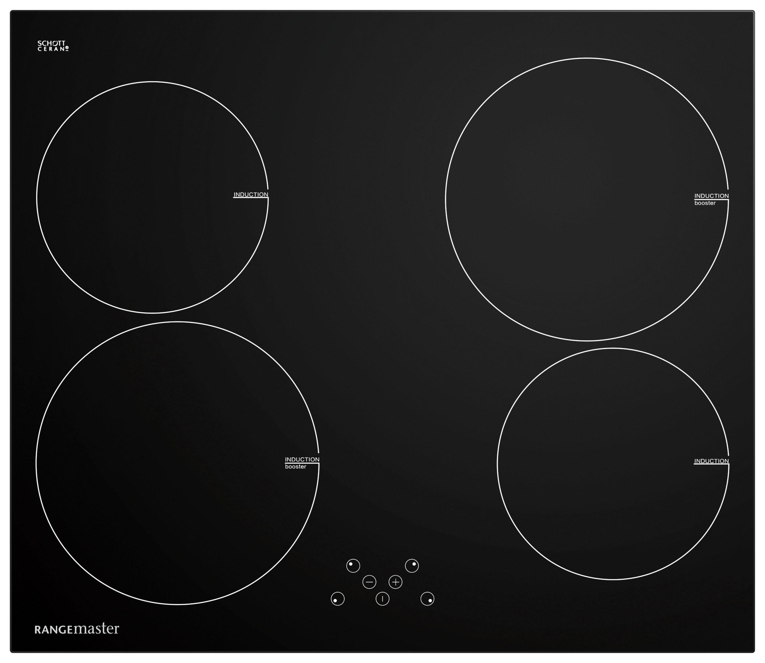 Rangemaster - 4 Zone - Induction Hob - Black