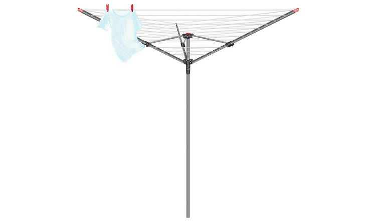 Vileda 40m 3 Arm Rotary Outdoor Washing Line
