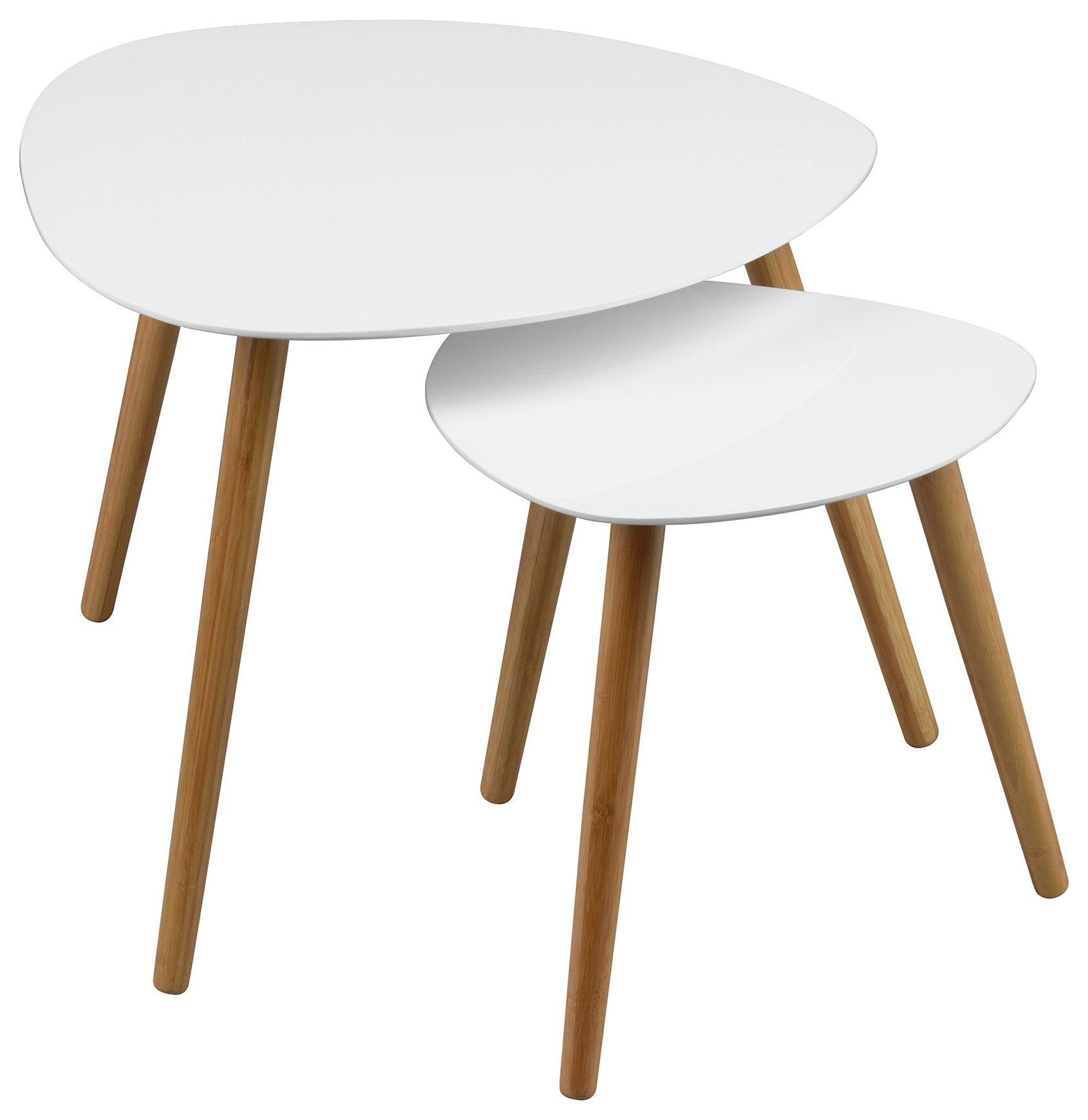 Buy Premier Housewares Nostra Black Oak Veneer Side Table