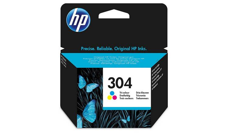 HP 304 Original Ink Cartridge - Colour