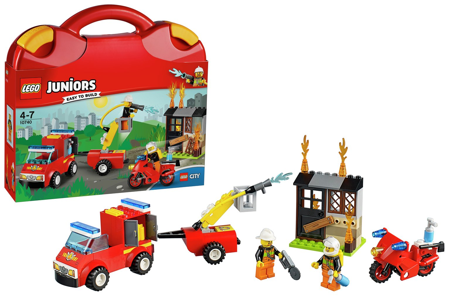 LEGO Juniors Fire Patrol Suitcase - 10740