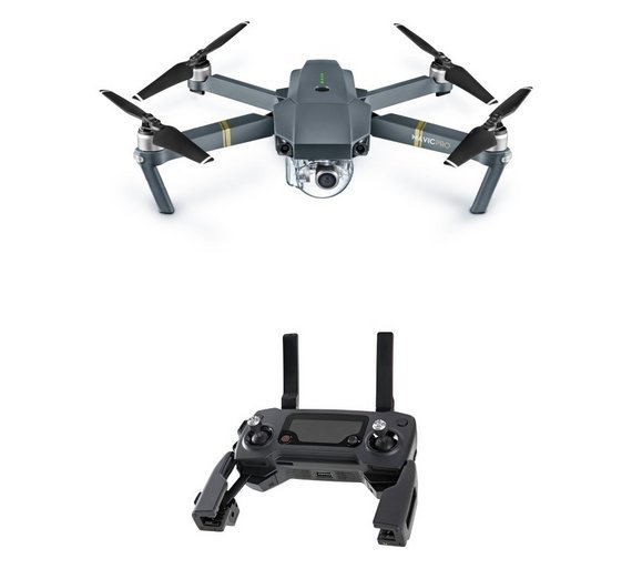 Image of DJI Mavic Pro 4k Drone with Controller