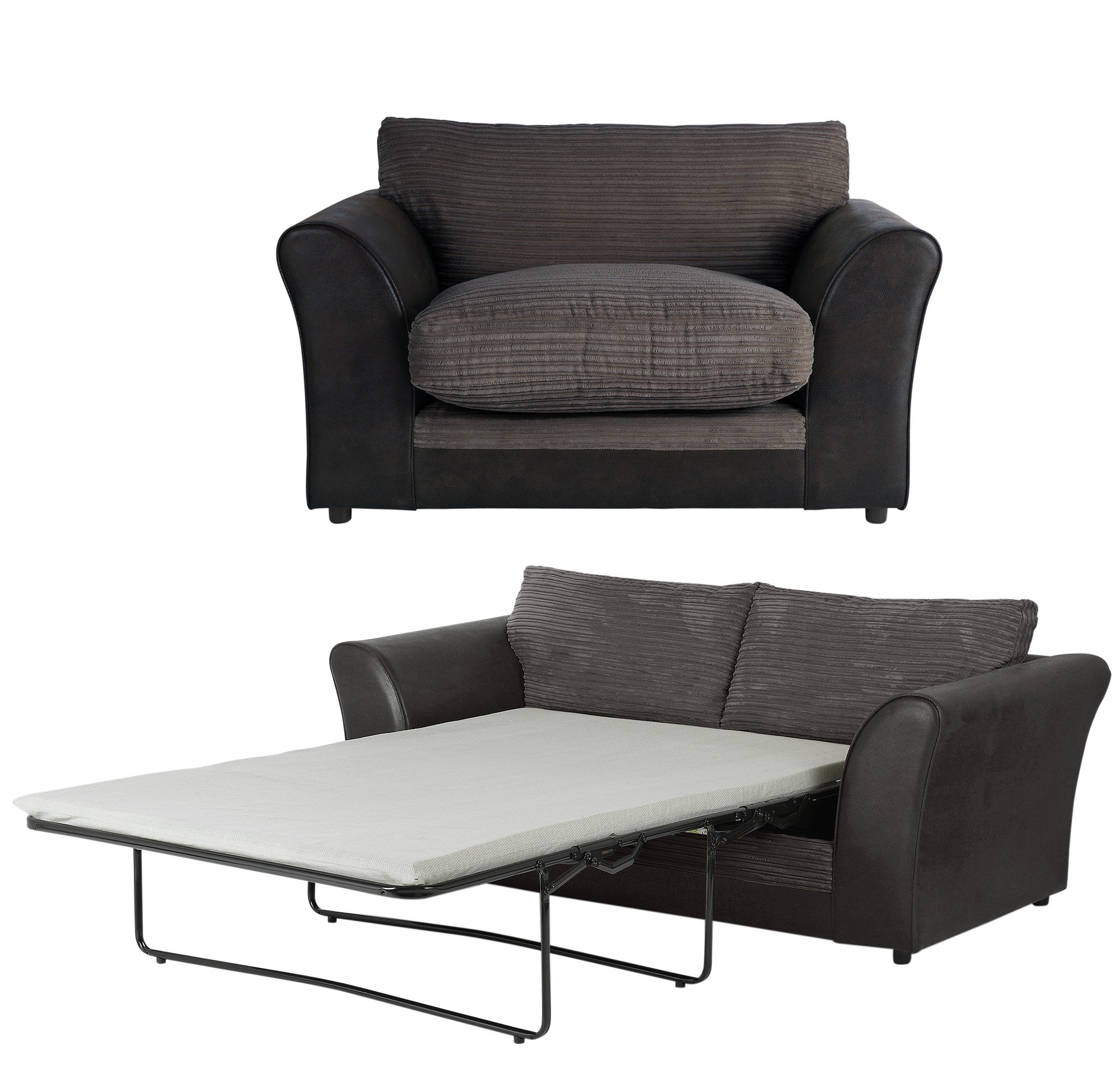 Sale On Home Harley 2 Seater Sofa Bed And Cuddle Chair
