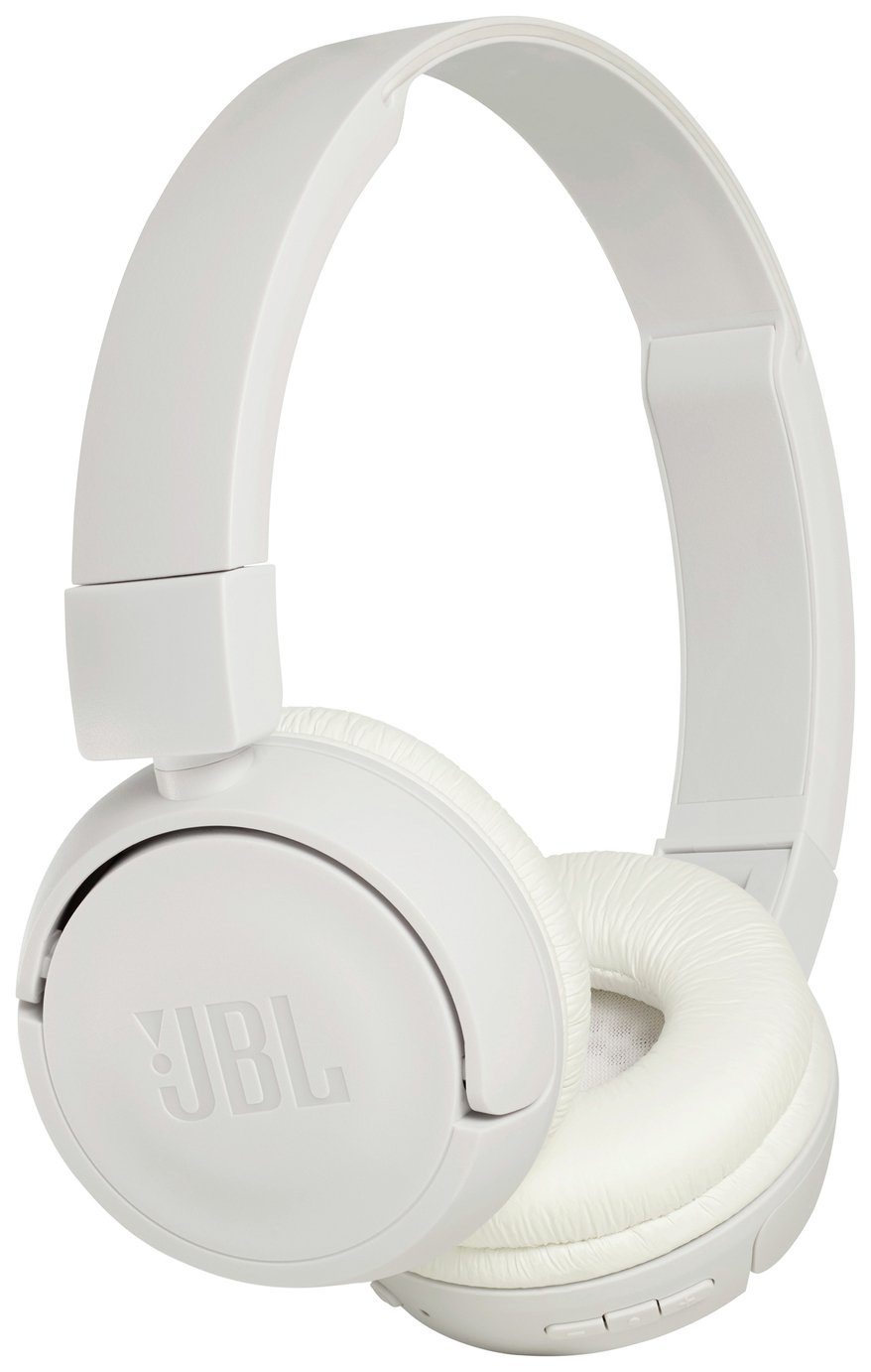 JBL T450 On-Ear Wireless Headphones - White
