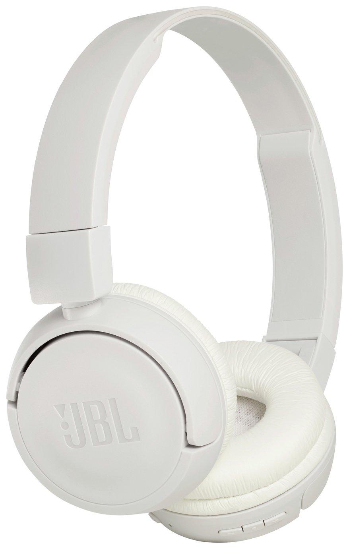 JBL T450 On-Ear Wireless Headphones - White