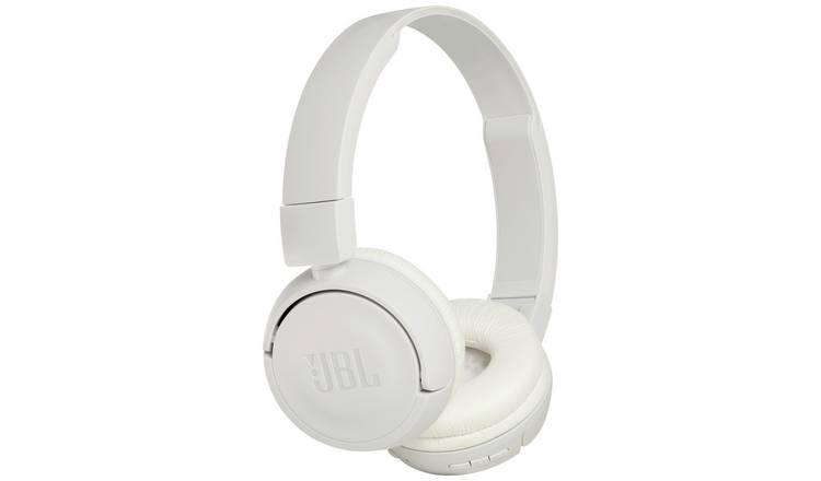 d14fb1029e6 Buy JBL T450 On-Ear Wireless Headphones - White | Headphones ...