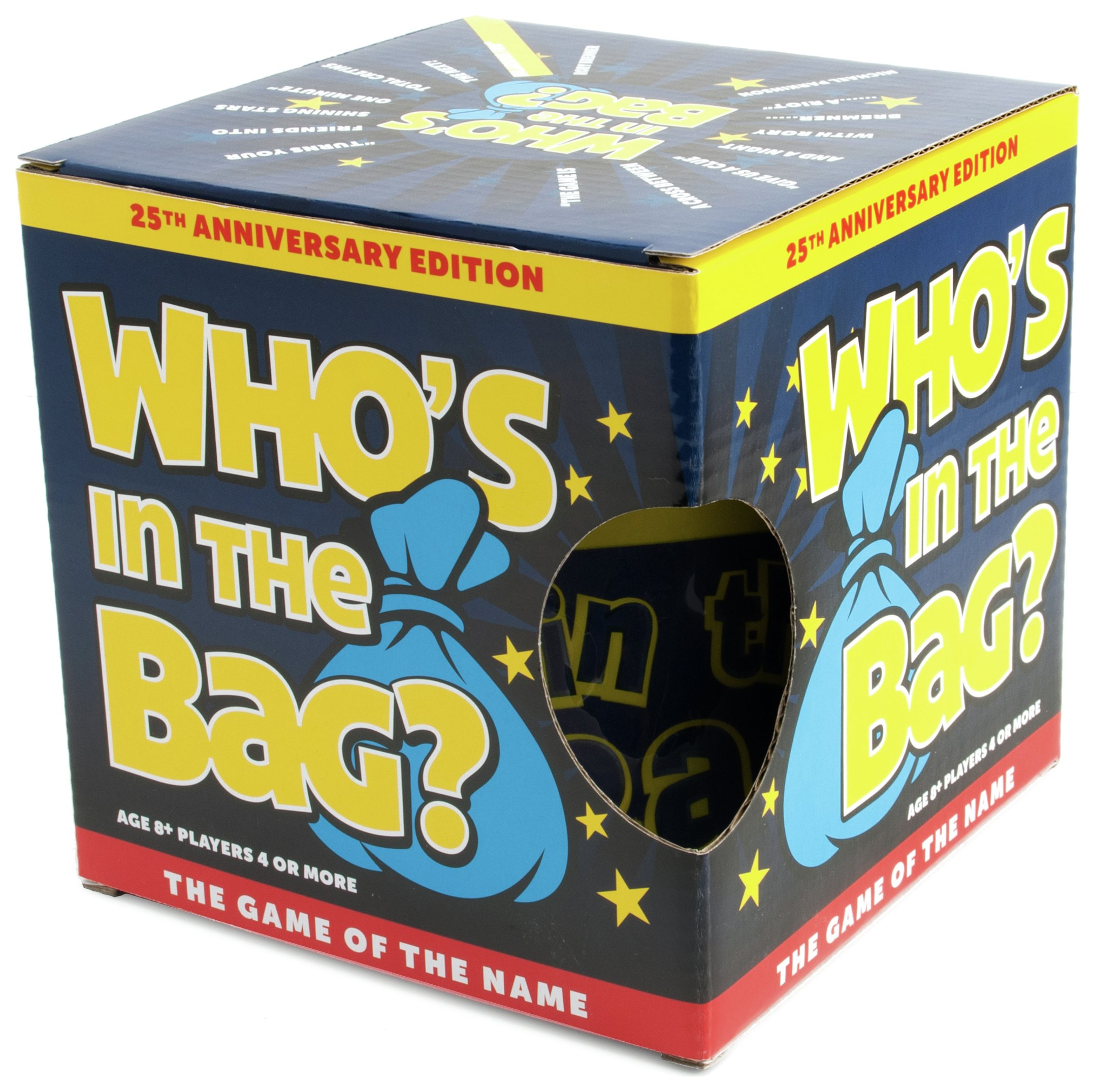Image of Paul Lamond Games Who's in the Bag Game.