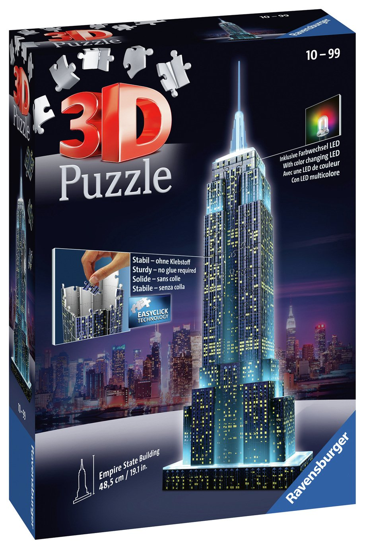 Ravensburger 3D Light Up Empire State Building Jigsaw