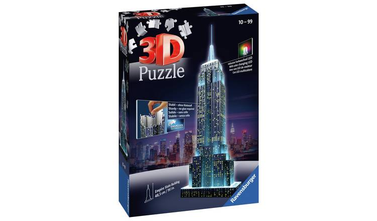 Ravensburger 3D Light Up Empire State Building Jigsaw