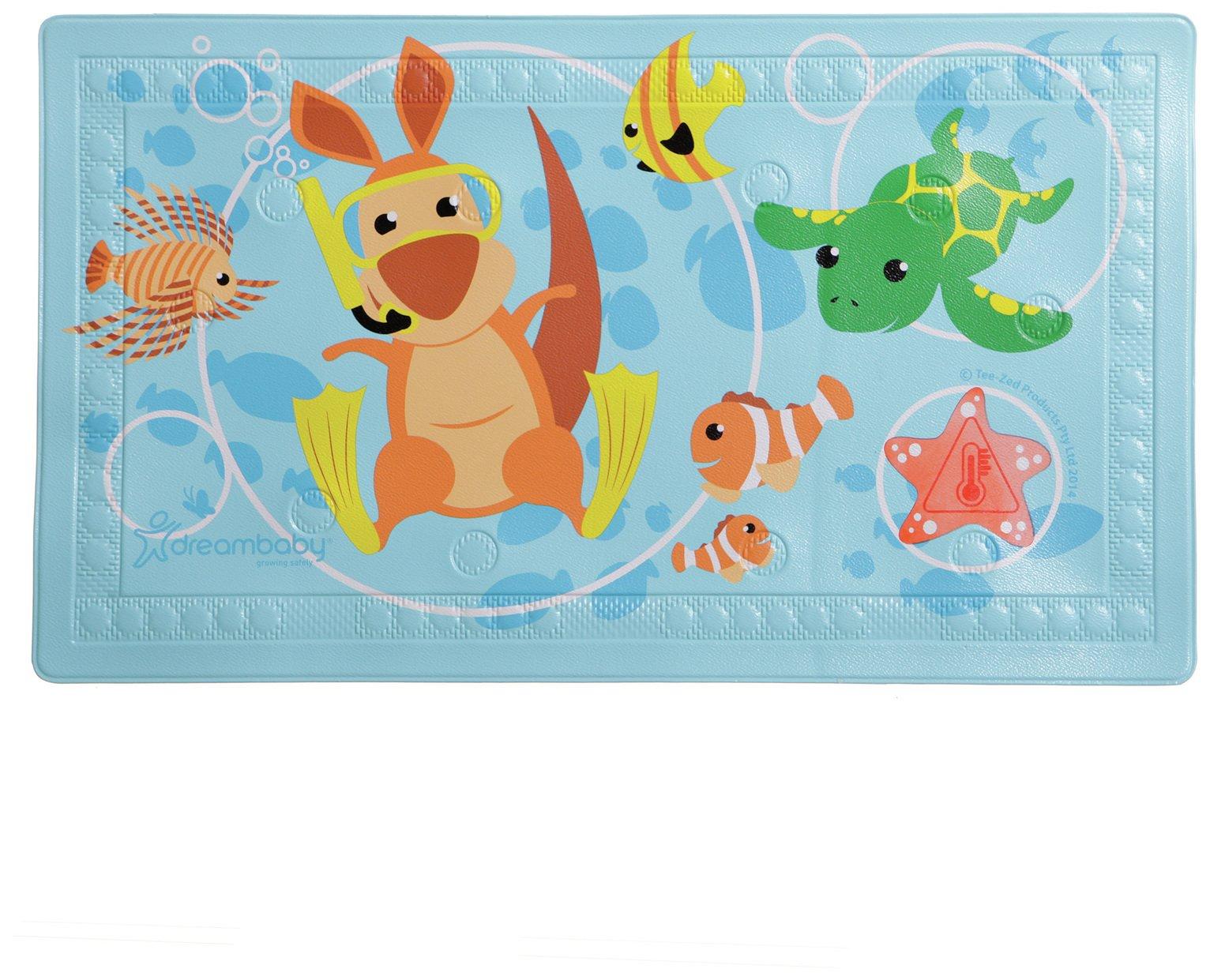 Dreambaby Anti-Slip Large Bath Mat - Heat-Sensing Indicator