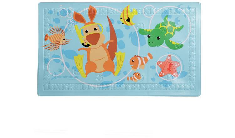 Dreambaby Anti-Slip Large Bath Mat - Heat-Sensing Indicator