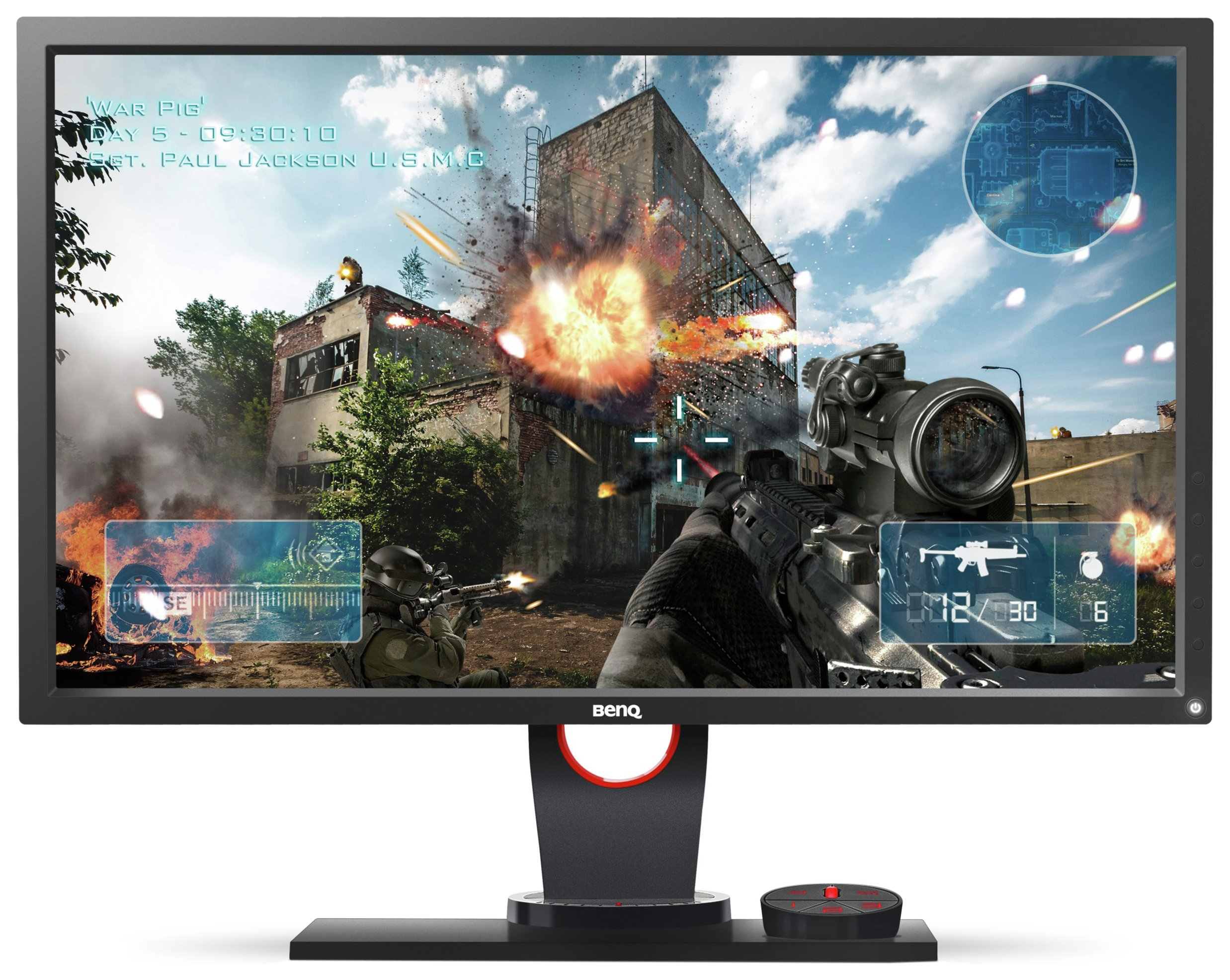 Image of BenQ Zowie XL2430 24 Inch Gaming PC Monitor.