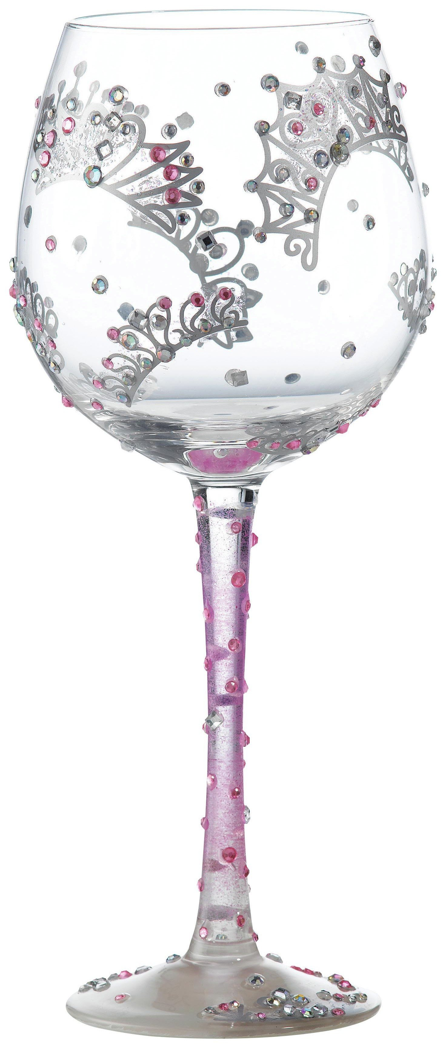 Image of Lolita Superbling Princess Wine Glass.