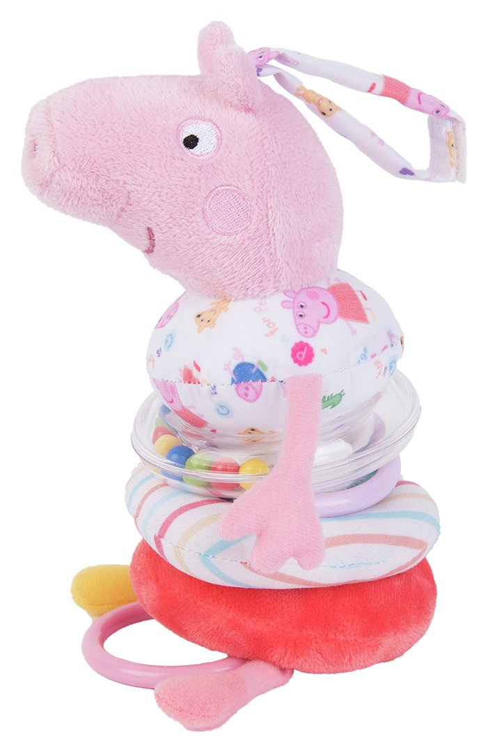 Peppa Pig for Baby Jiggle Peppa Pig Soft Toy.